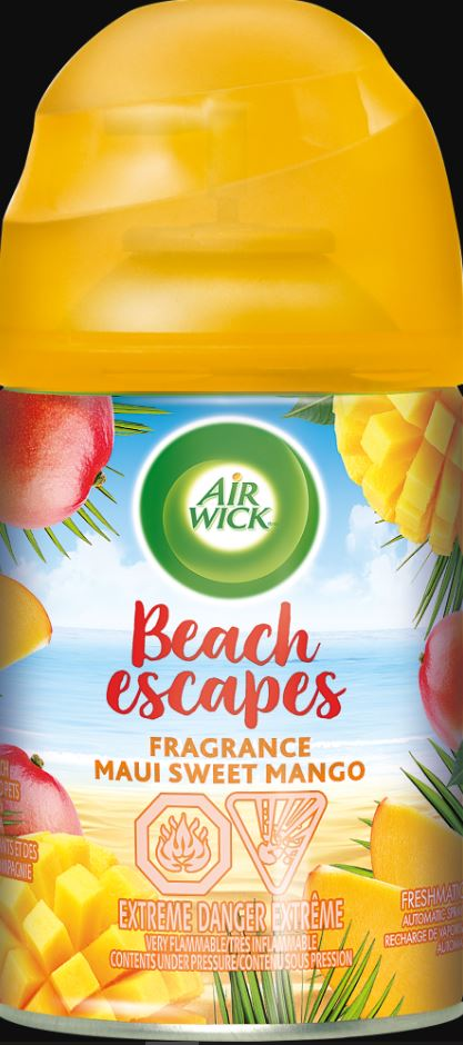 AIR WICK® FRESHMATIC - Beach Escapes Maui Sweet Mango (Canada)